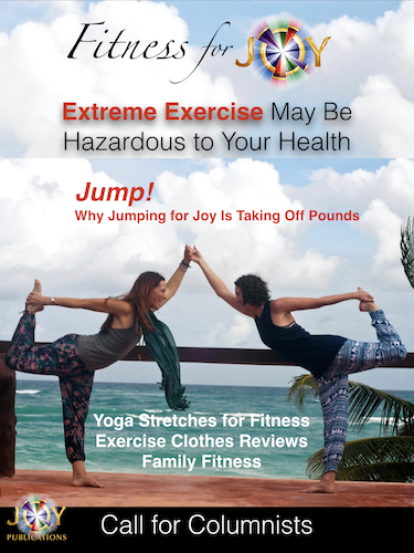 Content Marketing Magazine Fitness for Joy Cover Image